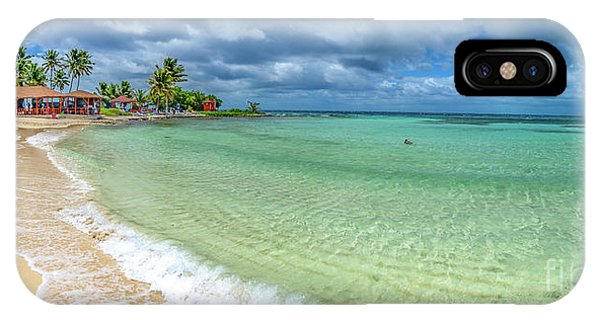 Goff's Caye Belize Pano IPhone Case