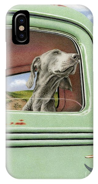 Goin' For A Ride IPhone Case