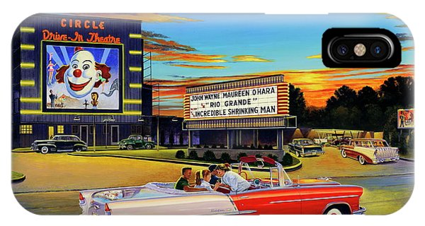 Goin' Steady - The Circle Drive-in Theatre IPhone Case
