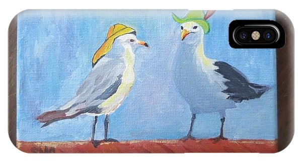 Going To The Hat Parade IPhone Case