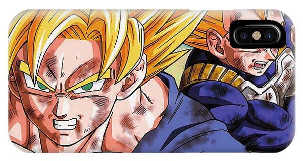 Saiyans iPhone Case - Goku by Babbal Kumar