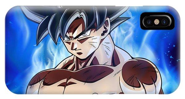 Saiyans iPhone Case - Goku by Pawan Kumar