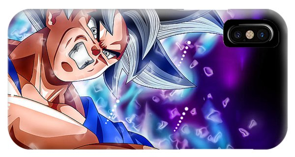 Shenron iPhone Case - Goku Ultra Instinct by Pawan Kumar