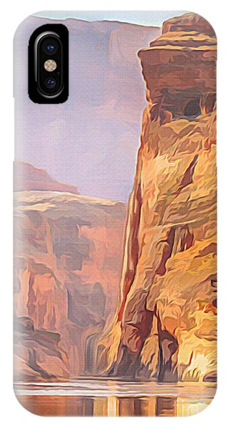 Gold Canyon River IPhone Case