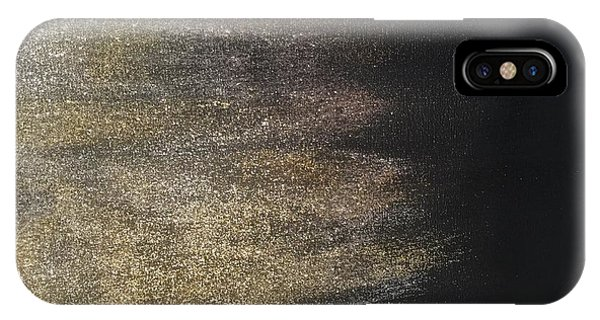 Gold Dusty Night IPhone Case