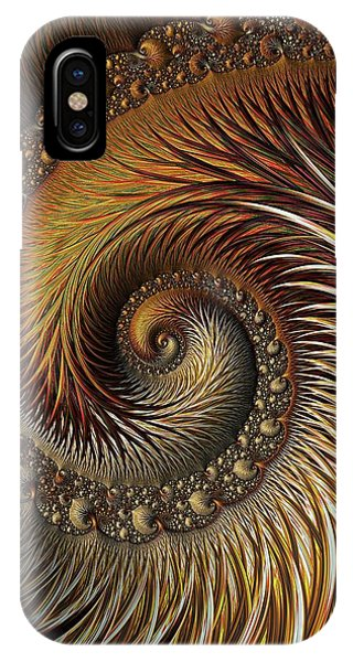 iPhone Case - Gold Feather by Amanda Moore