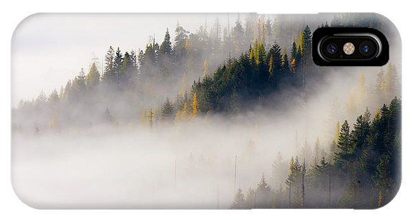 Shrouds iPhone Case - Gold In Them Hills by Mike  Dawson