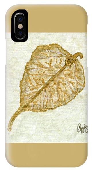 Gold Leaf IPhone Case