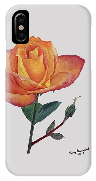 Gold Medal Rose IPhone Case