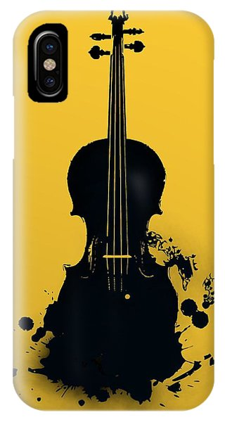 Gold Violin IPhone Case
