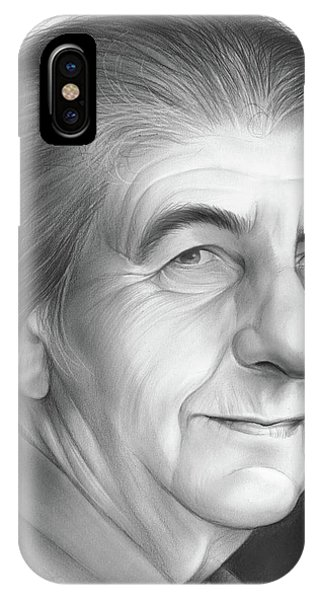 Prime Minister iPhone Case - Golda Meir by Greg Joens