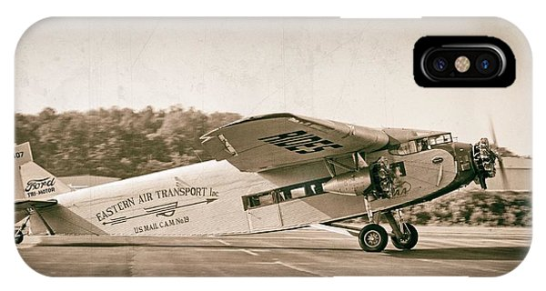 Golden Age Trimotor IPhone Case