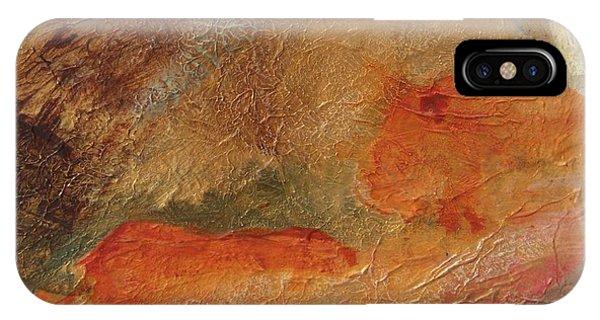 Golden Amber IPhone Case