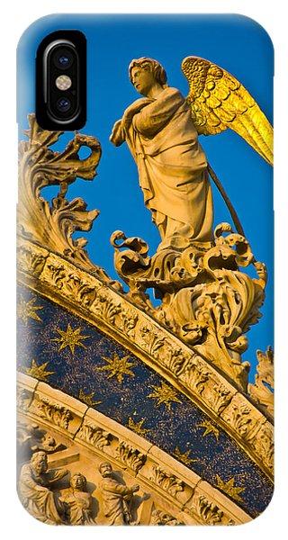 Golden Angel IPhone Case