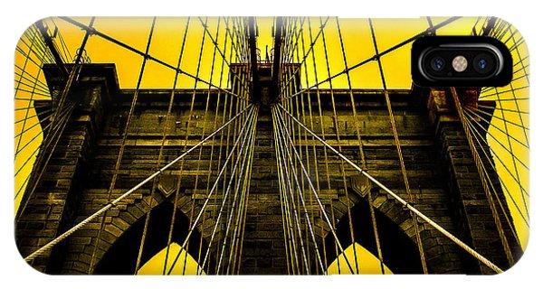 Architectural iPhone Case - Golden Arches by Az Jackson