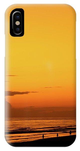 Golden Beach Sunset IPhone Case