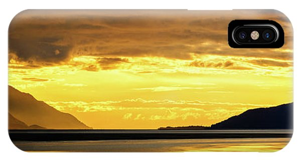 Armed iPhone Case - Golden by Chad Dutson