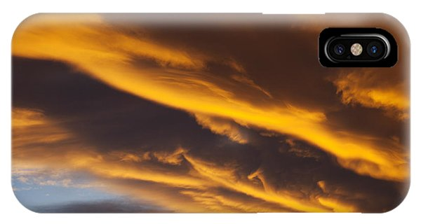 Golden iPhone Case - Golden Clouds by Garry Gay
