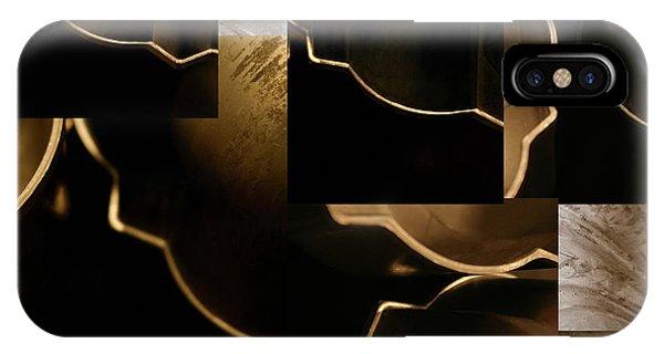 Golden Curves - IPhone Case