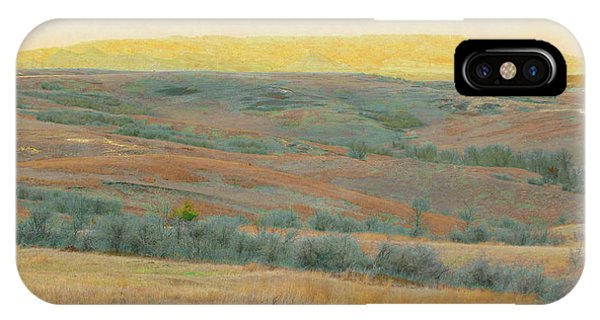 Golden Dakota Horizon Dream IPhone Case