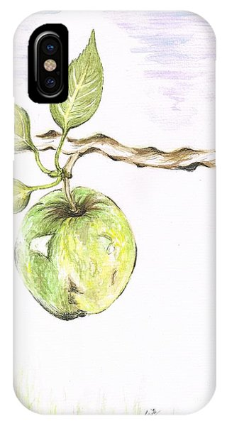 Golden Delishous Apple IPhone Case