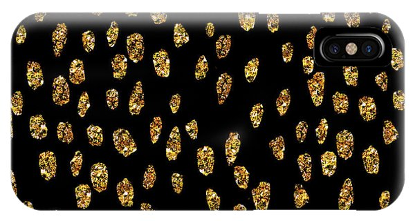 Golden Dots IPhone Case