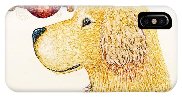 Golden Dreams IPhone Case
