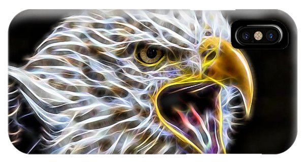 Bird iPhone Case - Golden Eagle Collection by Marvin Blaine