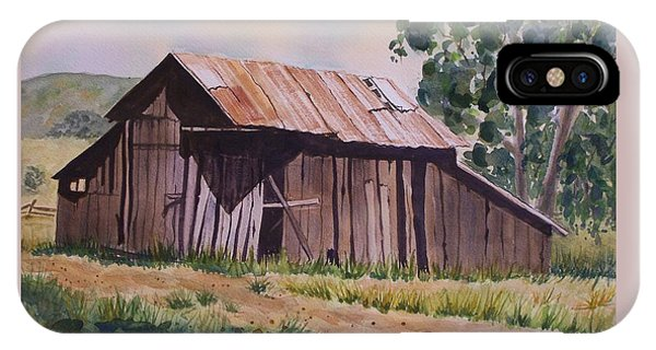 Golden Eagle Ranch Barn IPhone Case
