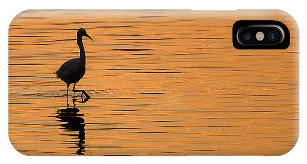 Golden Egret IPhone Case