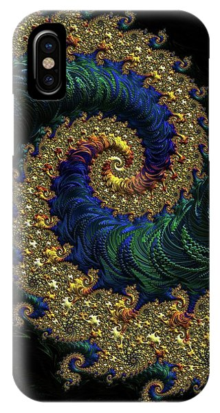 iPhone Case - Golden Embellishment by Amanda Moore