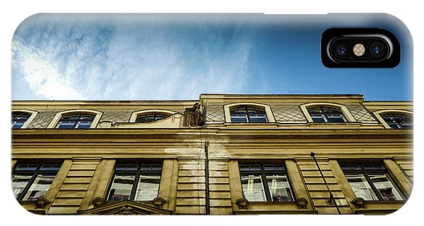 Golden Facade IPhone Case