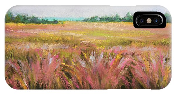 Golden Field IPhone Case