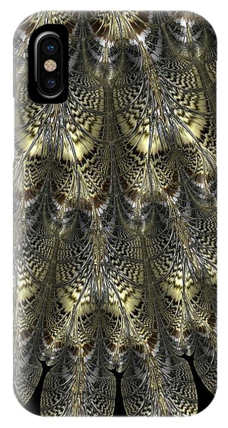 iPhone Case - Golden Filigree by Amanda Moore