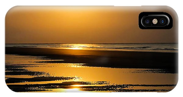 iPhone Case - Golden Fripp Island by Cynthia Leaphart