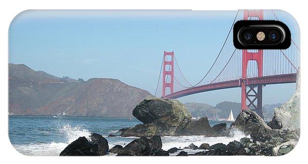Golden Gate Beach IPhone Case