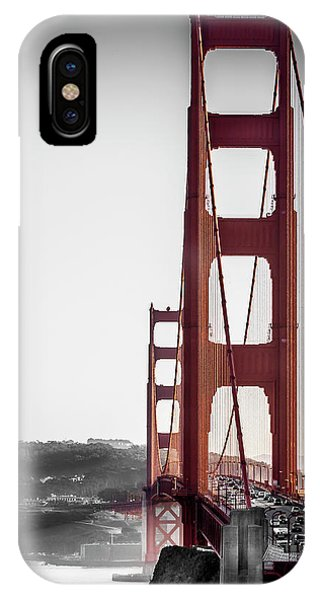 Golden Gate Black And Red IPhone Case