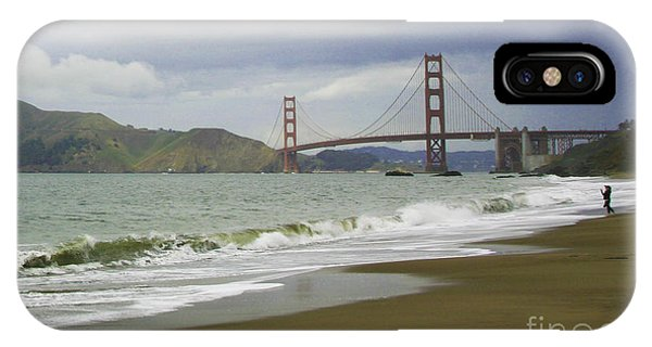 Golden Gate Bridge #4 IPhone Case