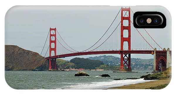 Golden Gate Bridge From Baker Beach IPhone Case
