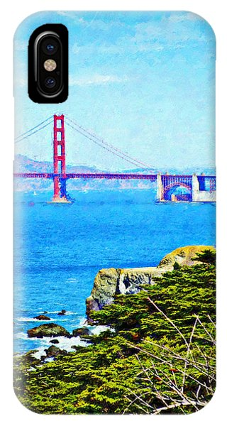 Golden Gate Bridge From The Coastal Trail IPhone Case