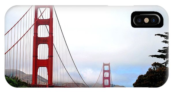 Golden Gate Bridge Full View IPhone Case