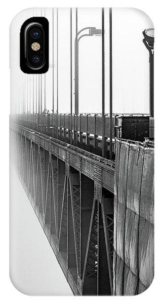iPhone Case - Golden Gate Bridge Portrait  by Bill Gallagher