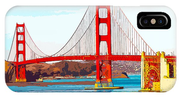 Golden Gate Bridge San Francisco The City By The Bay IPhone Case
