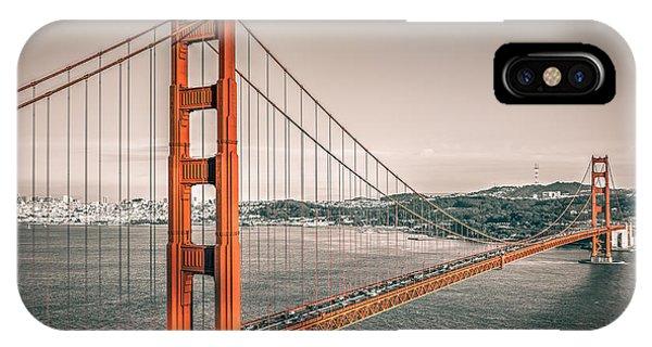 Golden Gate Bridge Selective Color IPhone Case