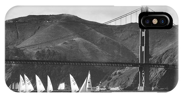 Golden Gate Seascape IPhone Case