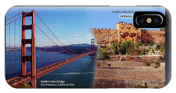 Golden Gate To Golden Gate IPhone Case