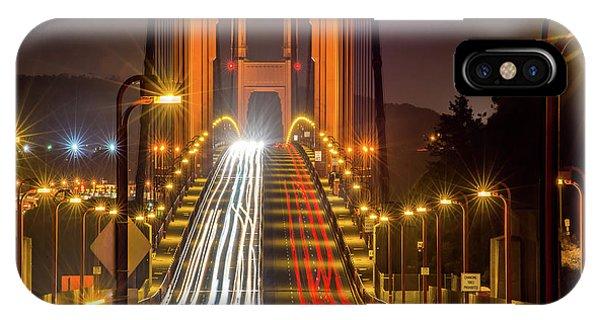 Golden Gate Traffic IPhone Case