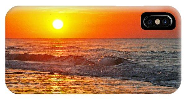 Golden Glory IPhone Case