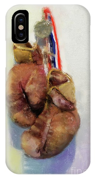 Golden Gloves IPhone Case