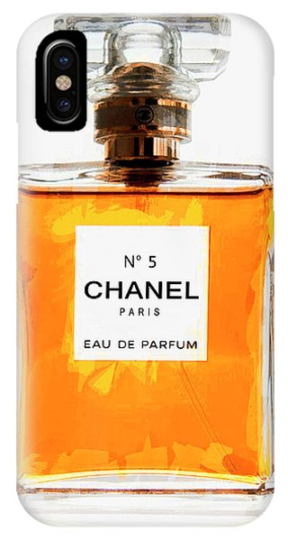Perfume iPhone Case - Golden Glow Of Chanel No. 5 by Daniel Hagerman